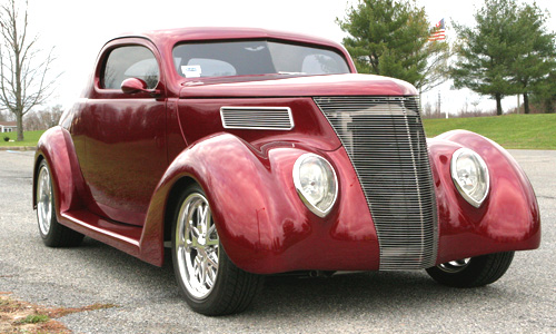 1937 Ford Coupe — front