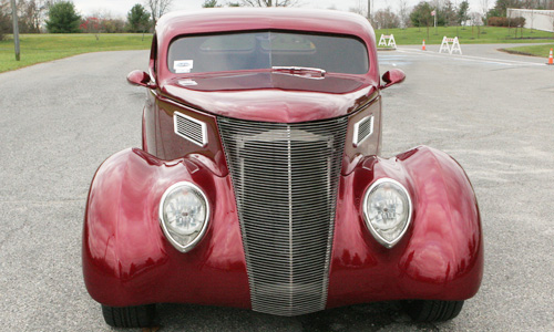 1937 Ford Coupe - front shot